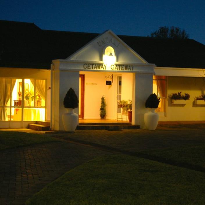 Umtali Country Inn Main Entrance